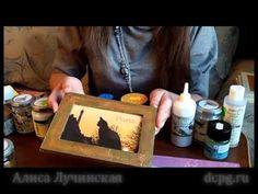 Кракелюрный ликбез: обзор кракелюрных лаков - YouTube