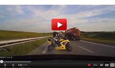 Oh My God! THis is incredible ! See what happens when a rider is placed in a car! VIDEO