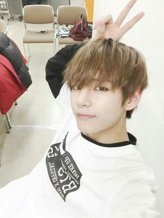 BTS V Kim Taehyung Twitter update photo