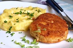 Czech Recipes, Ethnic Recipes, No Salt Recipes, Tofu, Mashed Potatoes, Food And Drink, Cooking, Czech Food, Gardening