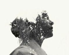 Christoffer Relander fotografia retratos dupla exposição natureza pessoas