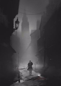 The Order 1886 Concept Art – London Der Orden 1886 Concept Art – London Fantasy World, Dark Fantasy, Fantasy Art, Ville Steampunk, Arte Obscura, Victorian London, Dark Places, Fantasy Landscape, Gothic Art