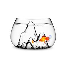Hand-blown Glass Fishbowl designed by Aruliden