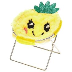 Claire's Girl's Furry Pineapple Phone Holder Chair ** Check this awesome product by going to the link at the image. (This is an affiliate link) Pineapple Room Decor, Pineapple Art, Cell Phone Holder, Ipod Holder, My New Room, Girls Accessories, Decoration, Iphone Cases, High Heel
