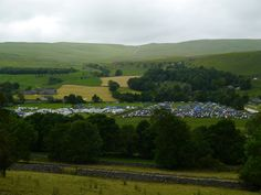 Kilnsey Velofest looking busy
