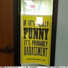 It it's funny... Human Resources Humor