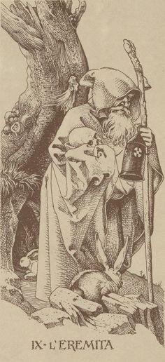 Dürer 1989 - VIIII - L' Eremita