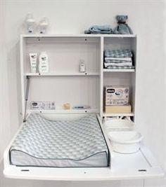 Baby Dan Alfred Vægophængt puslebord - ekstra bred-Hvid Toilet, Upholstery, Dining Chairs, Wood, Furniture, Design, Home Decor, Baby Dan, Kids