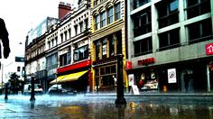 Amazing photo of a typically rainy Oldham Street in Manchester (but somewhat beautiful) that I found on this website which is an online photo challenge http://photos.yearofhealthandwellbeing.org.uk/gallery