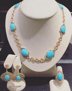 @sutrajewels @neimanmarcus #sutrajewels #sutrastyle #fashion #luxury #rosegold #sleepingbeauty #turquoise #diamonds #feathers #necklace #earrings #ring #neimanmarcus #nmboca #iworkatnm Candy Necklaces, Fashion Jewelry Necklaces, Jewelry Sets, Jewlery, Party Wear Indian Dresses, Sleeping Beauty Turquoise, Gold Pendant Necklace, Turquoise Jewelry, Glitters