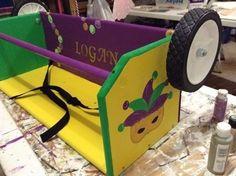 Mardi Gras Ladder Seat