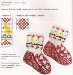 New knitting baby socks fair isles 64 Ideas Knitting Videos, Knitting Charts, Knitting For Beginners, Baby Knitting Patterns, Knitting Socks, Crochet Dress Girl, Knit Baby Dress, Knitted Baby Boots, Baby Barn