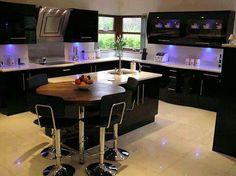 Black Kitchen Designs Interior Design Ideas Decorating Before And After  Kitchen Design