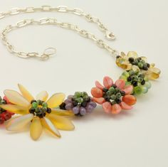Hey, ho trovato questa fantastica inserzione di Etsy su https://www.etsy.com/it/listing/61150143/tutorial-bead-jewelry-pdf-pattern-flower