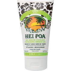 Hei Poa Exfoliating Shower Gel Monoi  - Peeling σώματος 150ml. Μάθετε περισσότερα ΕΔΩ: https://www.pharm24.gr/index.php?main_page=product_info&products_id=8084