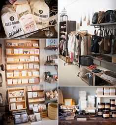 in North Oakland is Atomic Garden – a treasure trove of home goods, chic jewelry, craft supplies, new and vintage wares, and beautiful apparel. Co-owned by lovely ladies, Adrienne and Jamie