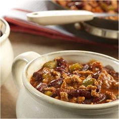 7 Ingredient Chunky Chili Recipe with V8 Juice