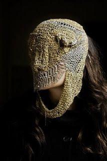 LOVELY METAL FACE// Arielle de Pinto