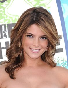 Ashley Greene's perfect highlights