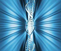 Fita de DNA azul.