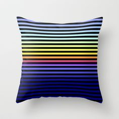 Dawn Throw Pillow by Lyle Hatch - $20.00