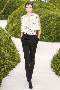Raf Simons for Christian Dior Haute Couture Show