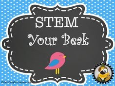 STEM the Beak! Can your students engineer a bird beak? Challenge your student to design and create various bird beaks that can capture different food sources. The activity is set up for group collaboration on beak designs. The students will use their beaks in eight different centers representing food types.