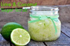 Life At Cobble Hill Farm: Tropical Lime & Coconut Sugar Scrub