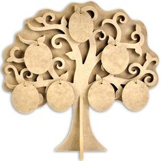 Kaisercraft Beyond The Page MDF Family Tree-11.5inX11.875in