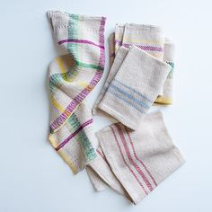 Six accessories to bring rural flair to your home, including beautifully textured #kitchentowels made in New York's Hudson Valley.
