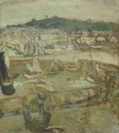 Edouard Vuillard |Let petit port, Honfleur ca. 1902