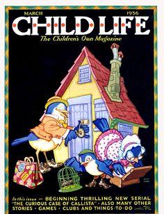 Child Life Magazine, March 1936