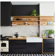New kitchen renovation before and after old houses open shelves Ideas