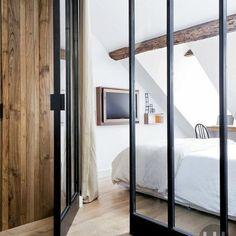 Appartement parisien ... retrouver la chaleur du bois