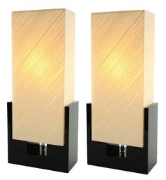 Aspire Home Accents 6071 Alicia Table Lamp (Set of 2) Black / Beige Lamps Lamp Sets Table Lamps