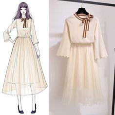 Korean Fashion – How to Dress up Korean Style – Designer Fashion Tips Set Fashion, Look Fashion, Fashion Models, Girl Fashion, Trendy Fashion, Fashion Design Drawings, Fashion Sketches, Fashion Illustrations, Fashion Drawing Dresses