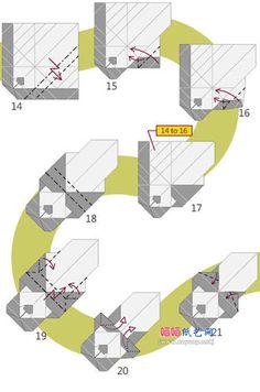 可爱趴趴熊猫折纸图解教程图片步骤3