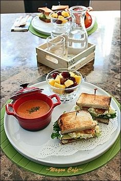 Brunch idea - make your own paninis?