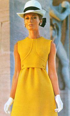 1969 Model byFabiani.Italian Vogue,March