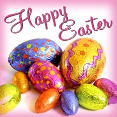 HAPPY EASTER !  To all the great people on Pinterest. ♥
