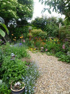 back garden by seaside.girl48, via Flickr
