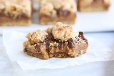 Caramel Peanut Butter Almost S'mores Cookie Bars | Mel's Kitchen Cafe