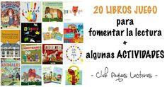 Descubre la estrategia definitiva para fomentar la lectura: convertirla en un juego y los libros en un juguete más, todo gracias a los libros juego.