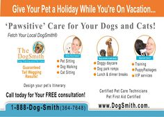 Contact your DogSmith professional today for all your Pet Care needs.  Elkton MD and Bear DE areas.