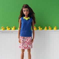 Minimagine: SPRING MOOD #minimagine #momokodoll #dolls #diorama