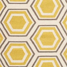grey and yellow rug | Rug Talk - Yellow, Gray, and White | Simply Salvage