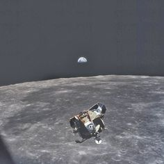 This photo was taken by astronaut Michael Collins..