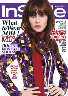 InStyle August 2014 cover