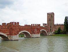 Ponte Scaligero Verona  Italy
