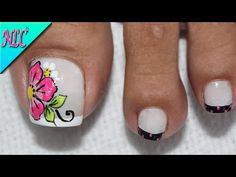New Nail Art Design, Nail Art Designs, Toe Nails, Pedicure, Lily, Beauty, Youtube, Chic Nails, Pretty Nails